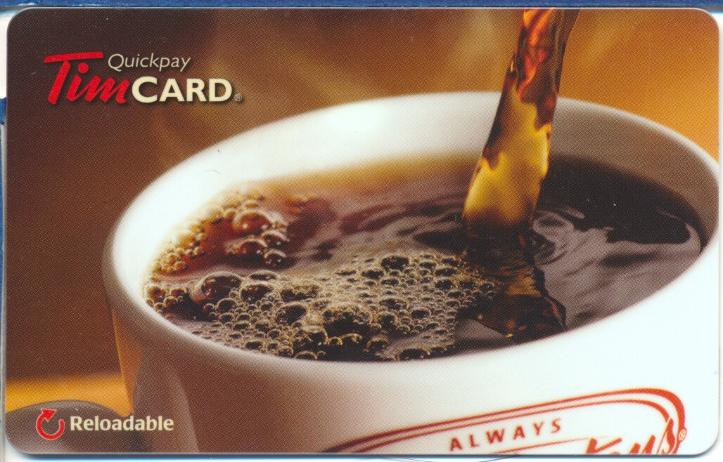 Tim Hortons 2014 USA 4th of July Gift Card FD35639